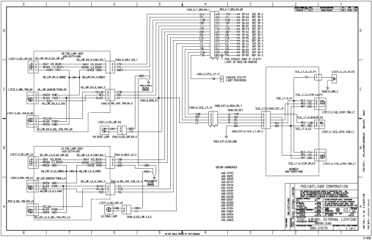 2011 Freightliner M2 Ac Wiring Diagram