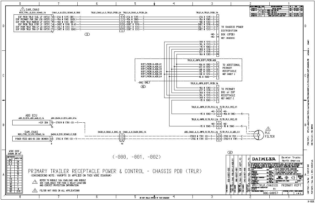2014 Freightliner Step Van Brake Light Wiring Diagram