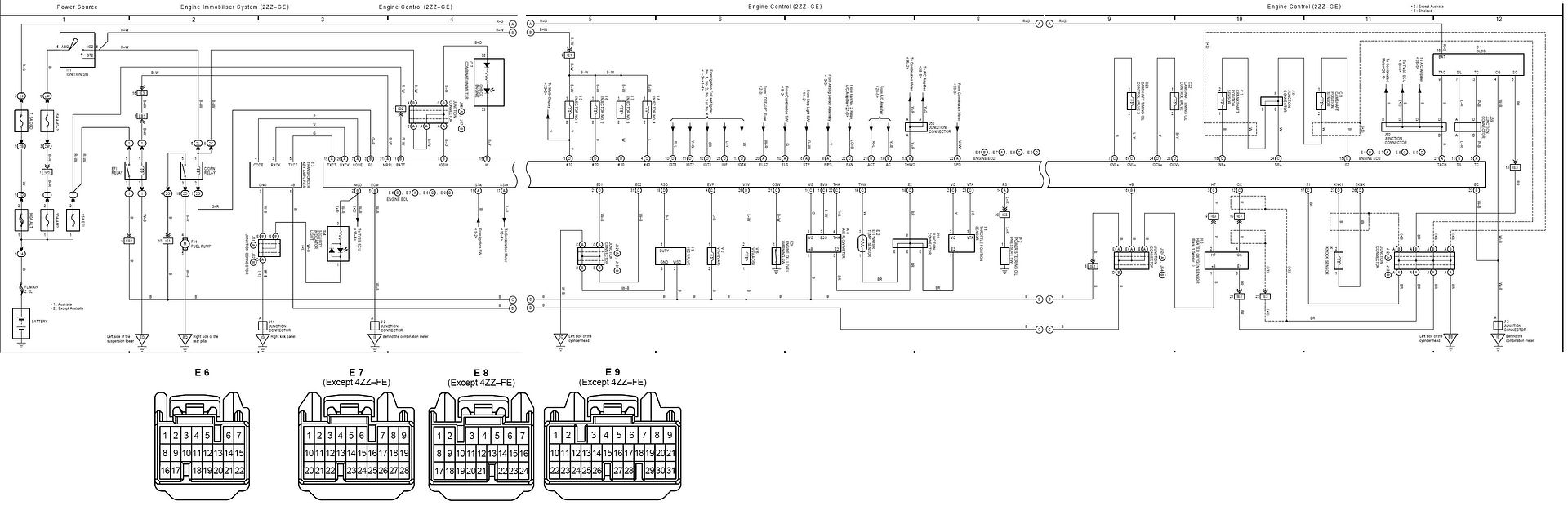 2zz Ge Ecu Wiring Diagram