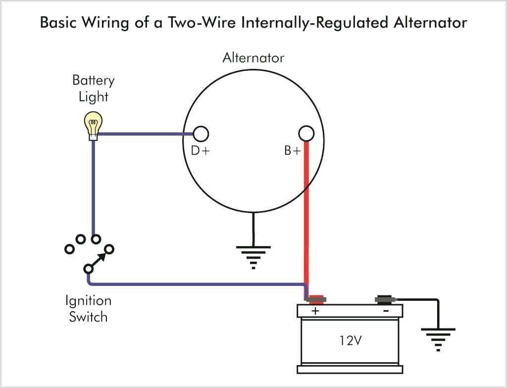 4 Wire Alternator Exciter Wiring Diagram