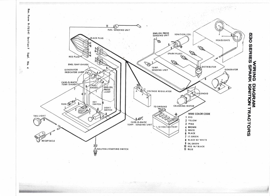 Case 1845C Skid Steer Wiring Diagram from diagramweb.net