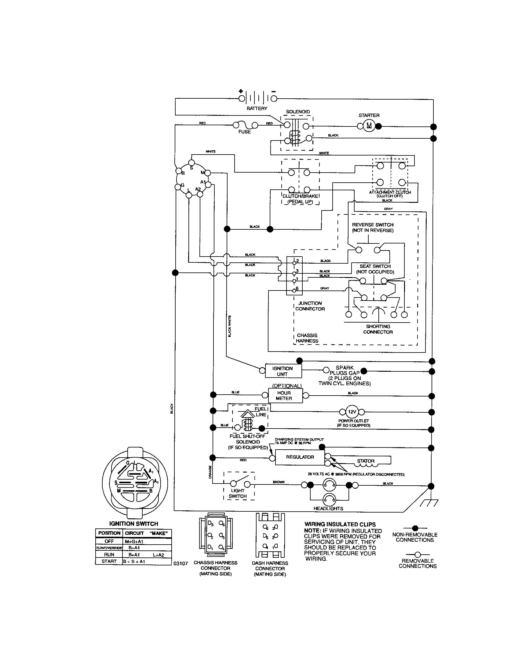 6 Prong Lawn Mower Starter Solenoid Wiring Diagram on