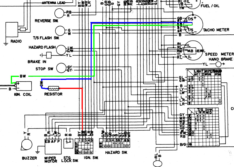 73 240z Pertronix Ignition Wiring Diagram