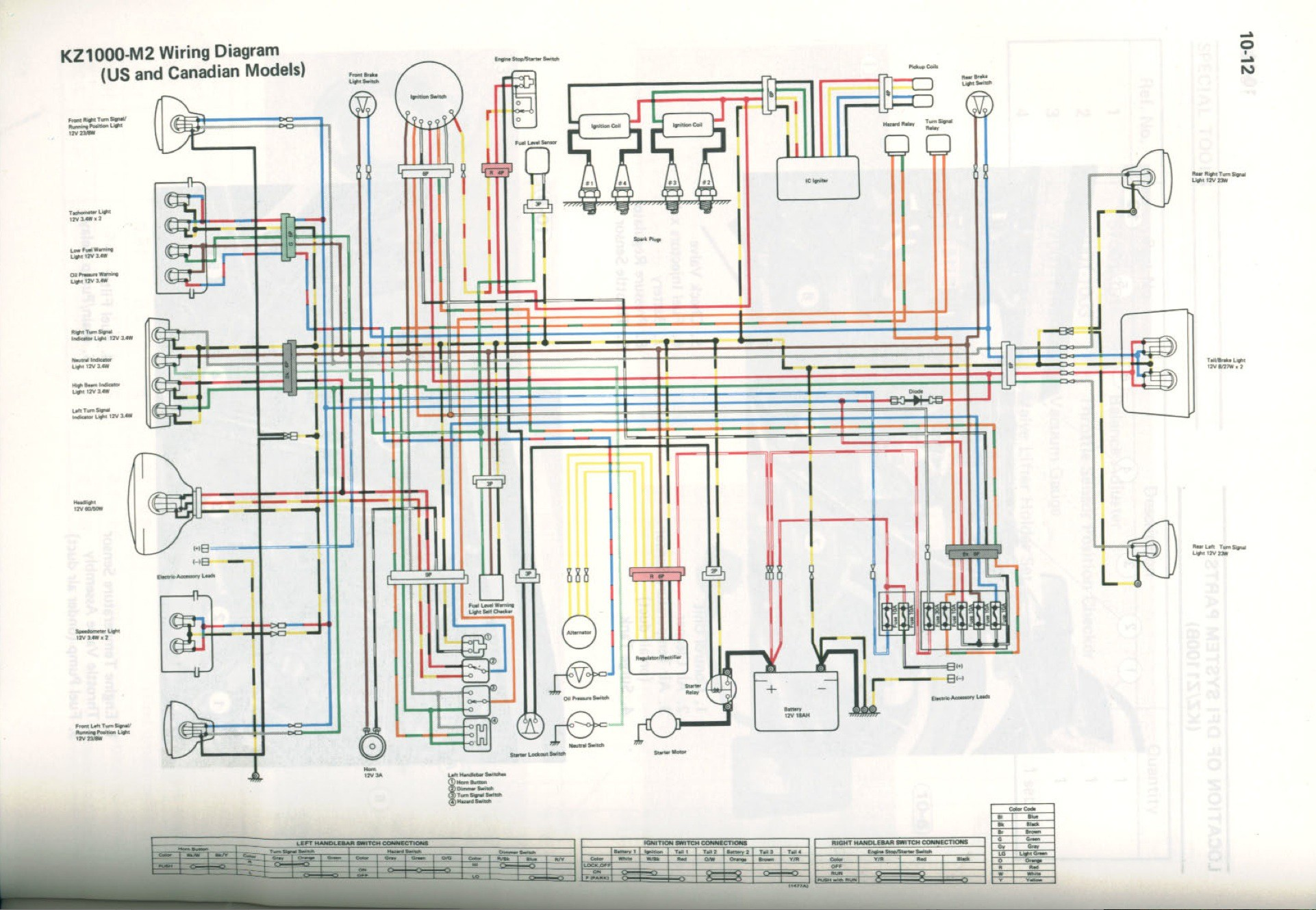 82 Kz305 Wiring Diagram