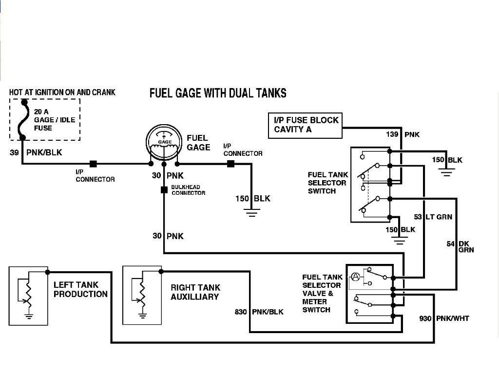 Ford Fuel Tank Selector Valve Wiring Diagram from diagramweb.net