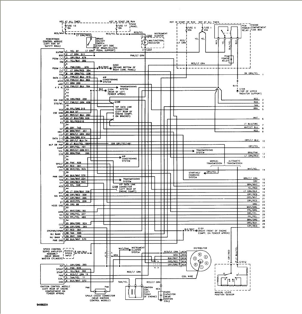 94 F150c Lightning Fuel Pump Wiring Diagram