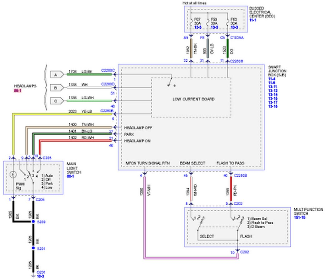 Wiring Diagram For Vacuum With Headlight from diagramweb.net