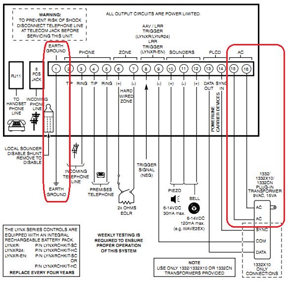 Adt Alarm System Transformer Wiring Diagram on
