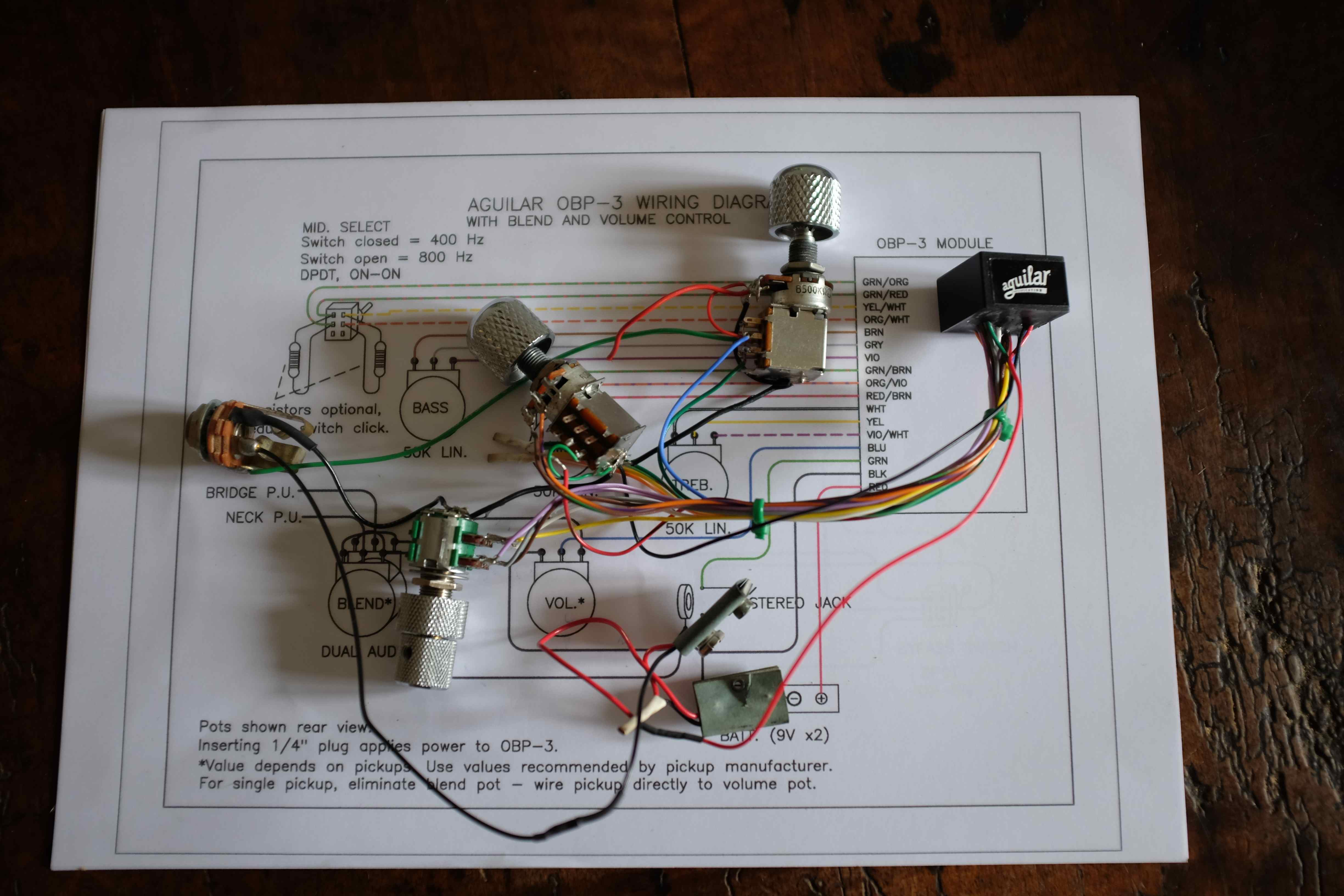Aguilar Obp 3 Preamp Wiring Diagram