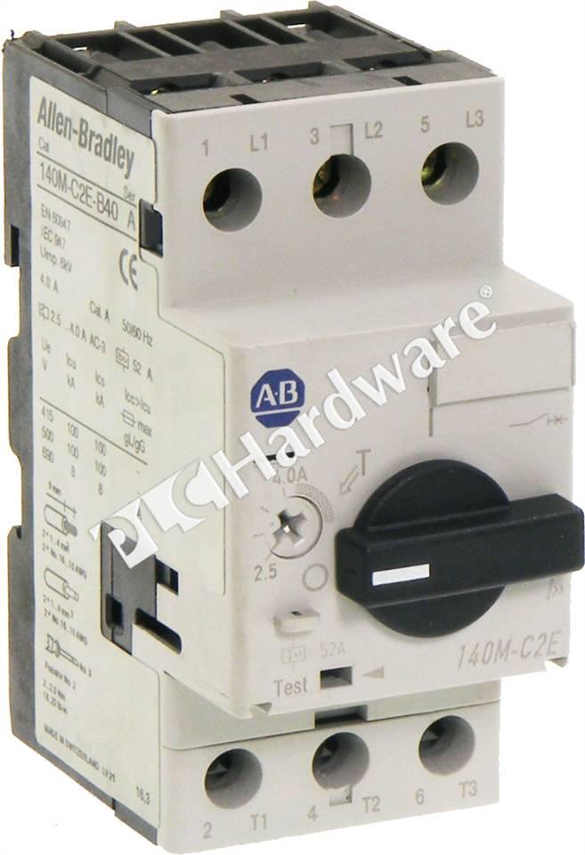 Allen Bradley 140m-c2e-b40 Wiring Diagram