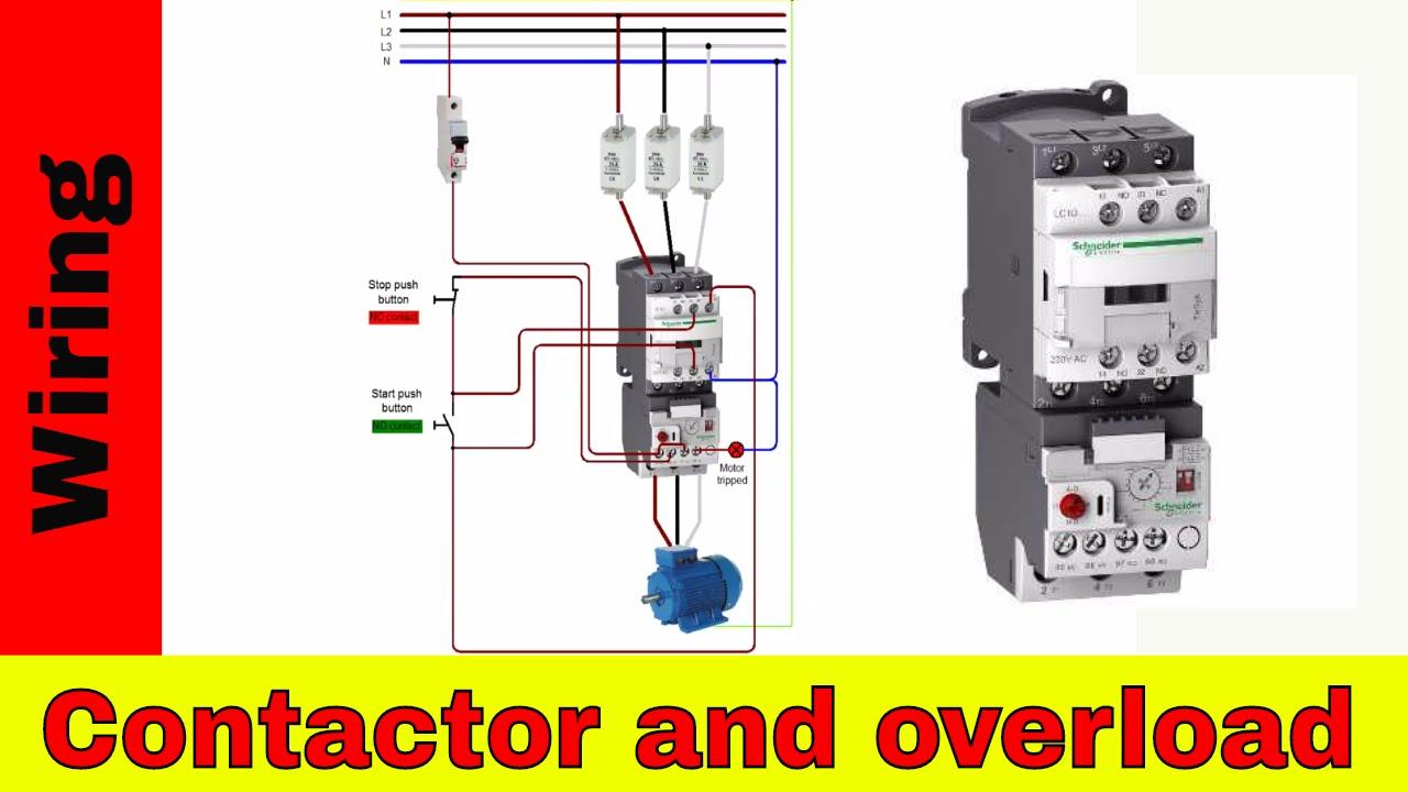Allen Bradley Motor Starter With Overload Protection Wiring Diagram 110v Control