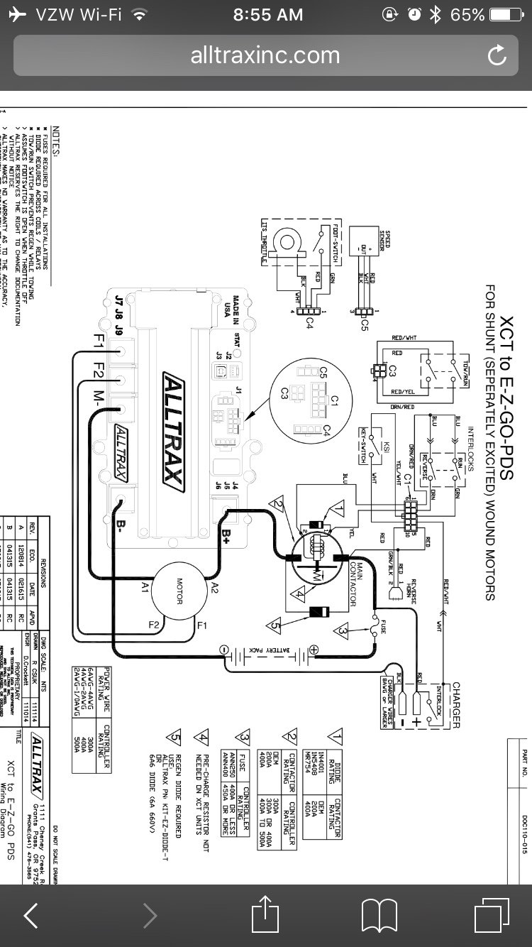 Alltrax Wiring Diagram
