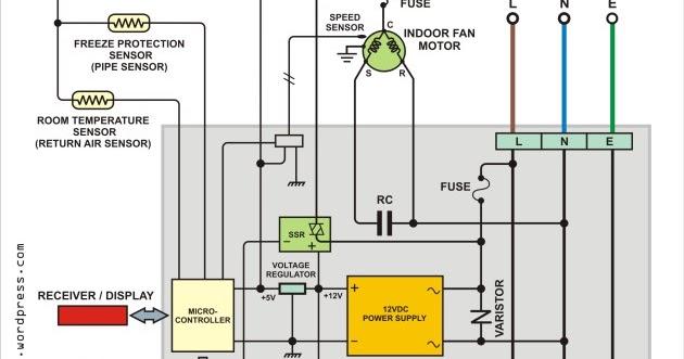 Aux Mini Split 230v Wiring Diagram