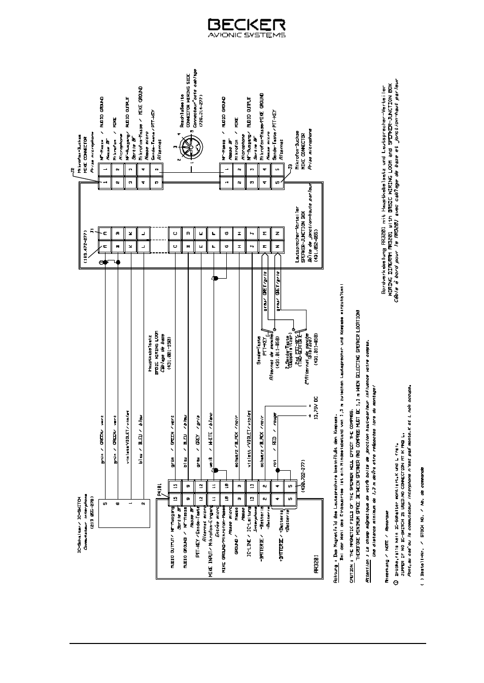 Becker Europa Wiring Diagram