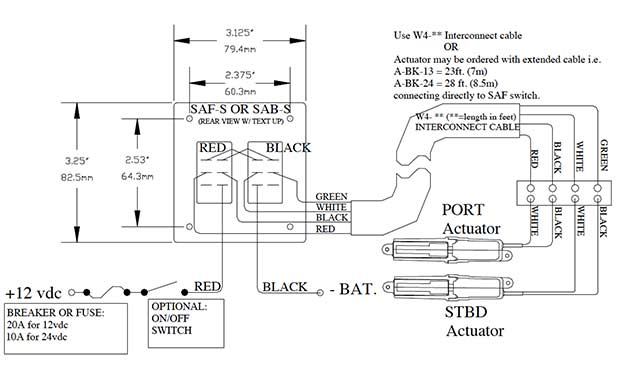 Bent    Trim    Tab Rocker Switch    Wiring       Diagram