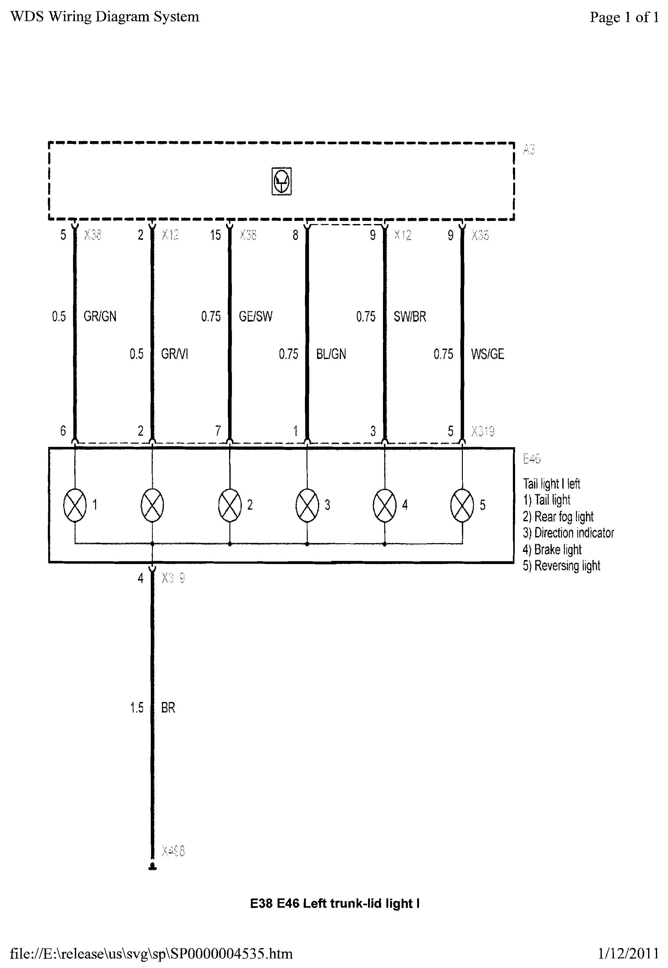 2001 Bmw X5 Radio Wiring Diagram from diagramweb.net