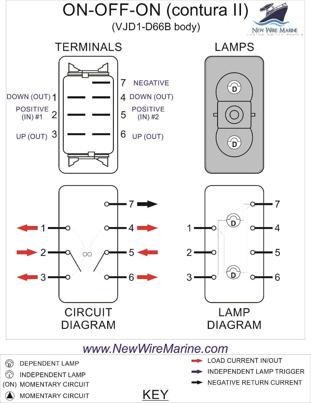 Boat Nav/anch Switch Wiring Diagram on