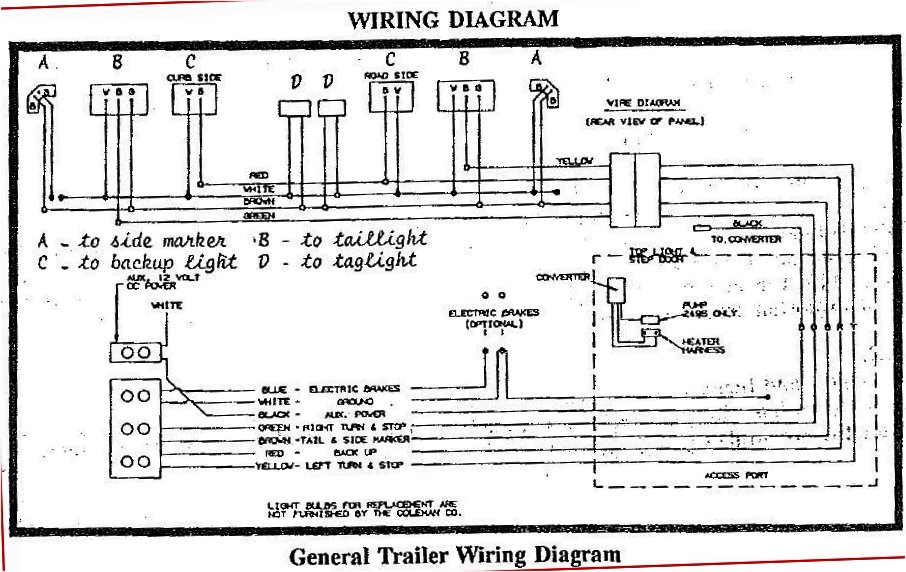 diagram coleman tent trailer wiring diagram full version hd