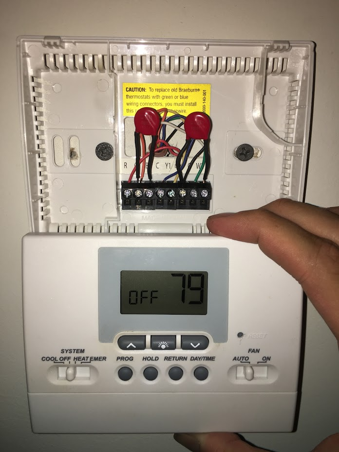 Braeburn Thermostat 1020 Wiring Diagram