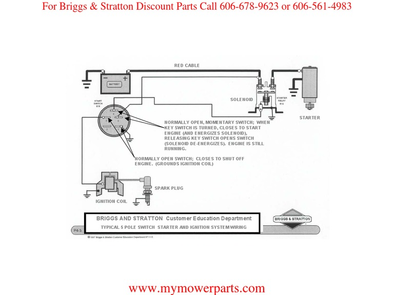 Briggs And Stratton 20 Hp V Twin Wiring Diagram from diagramweb.net