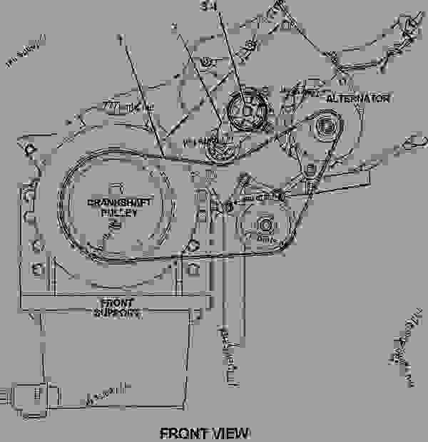 C15 Acert Belt Diagram