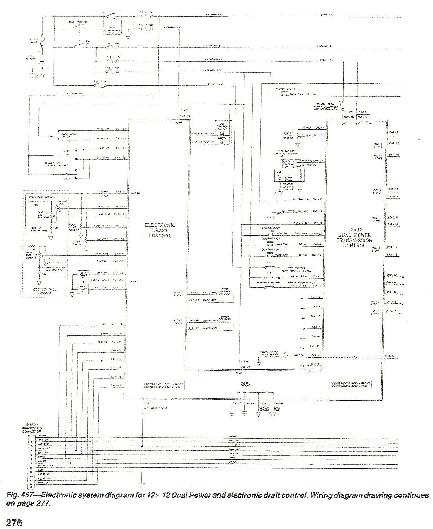 Cab Wiring Diagram 7740 Ford