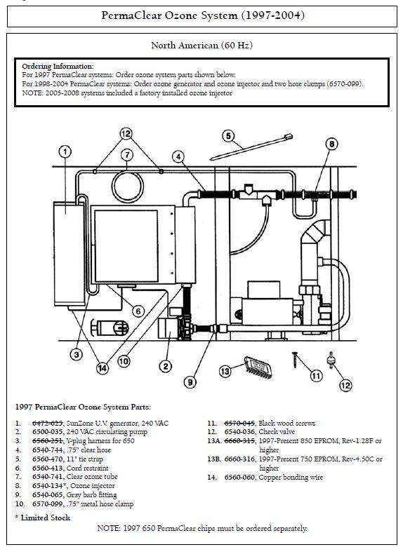 Caldera Spa Parts Diagram