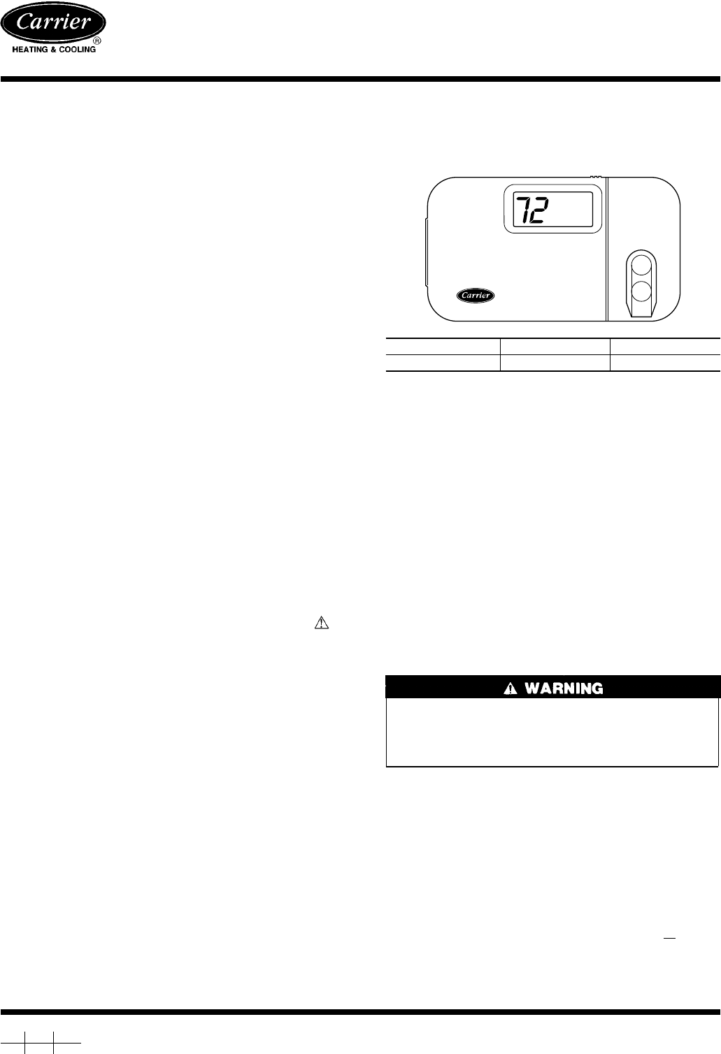 Carrier Thermostat Tp Prh01 Wiring Diagram
