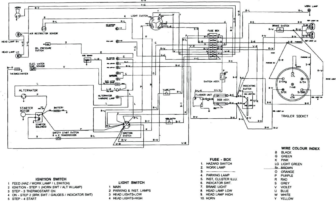 Case 2394 Wiring Diagram