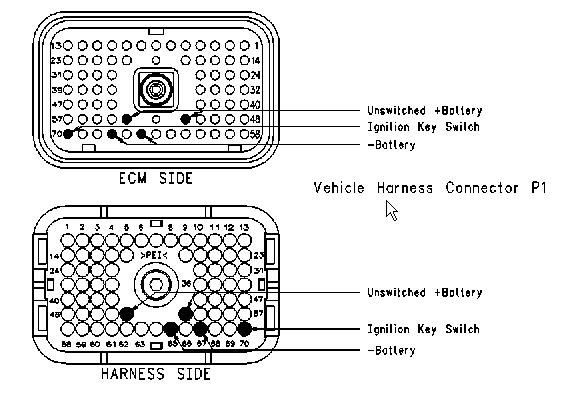 cat c12 ecm wiring diagram