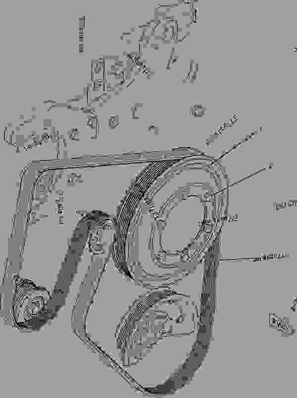 Caterpillar C15 Belt Diagram