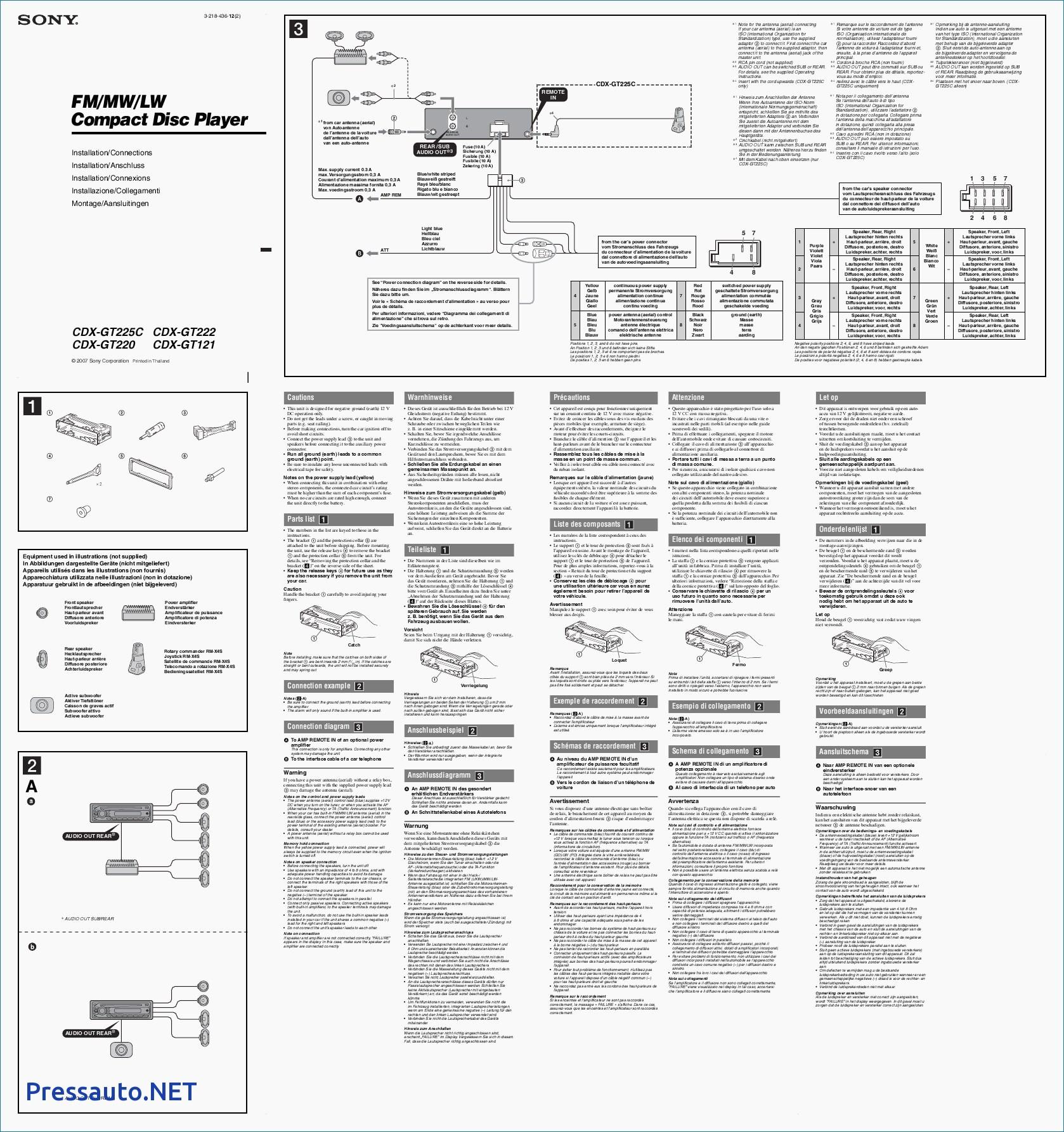 Sony Cdx Gt610Ui Wiring Diagram from diagramweb.net
