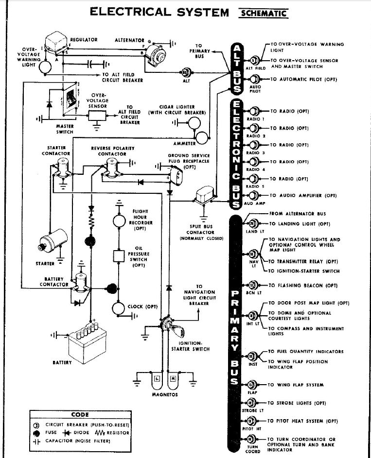 Cessna 172 Alternator Wiring Diagram