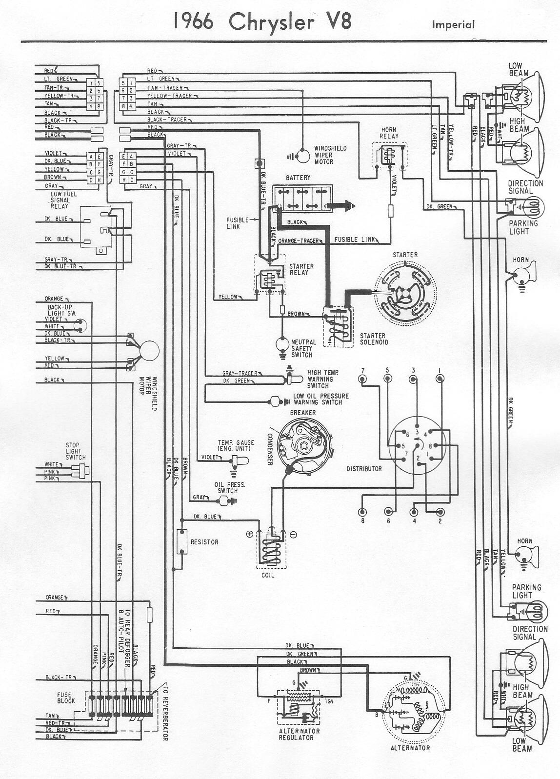 Chrysler Wiring Diagram M2 14 Bk  Yl
