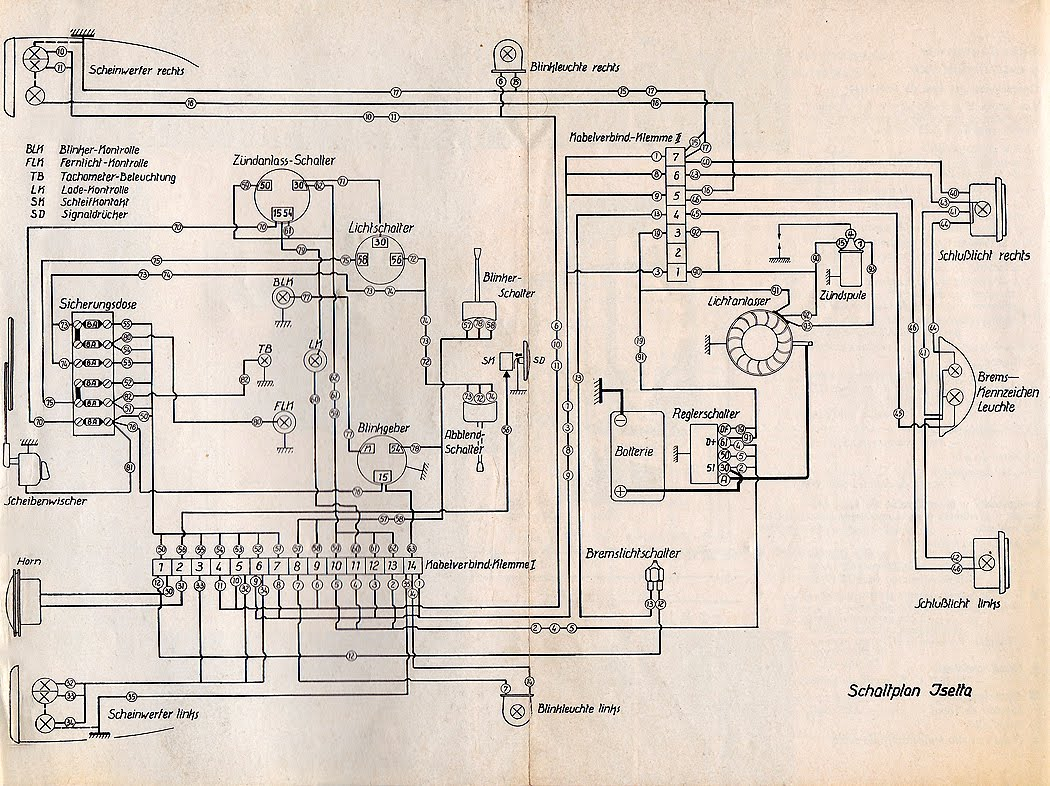 Diagram Citroen 2cv Ignition Wiring Diagram