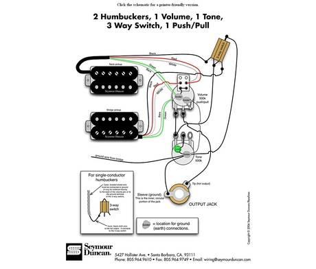coil tap wiring diagram seymour duncan