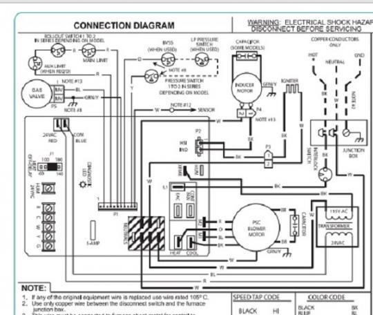 comfortmaker wiring diagram wiring diagrams list  comfortmaker furnace wiring diagram #8