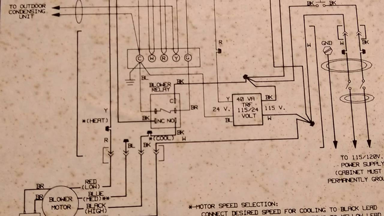 Comfortmaker Wiring Diagram