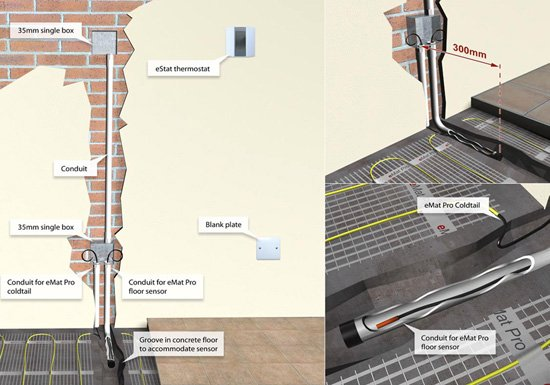 Contactor Wiring Diagram Underfloor Heating