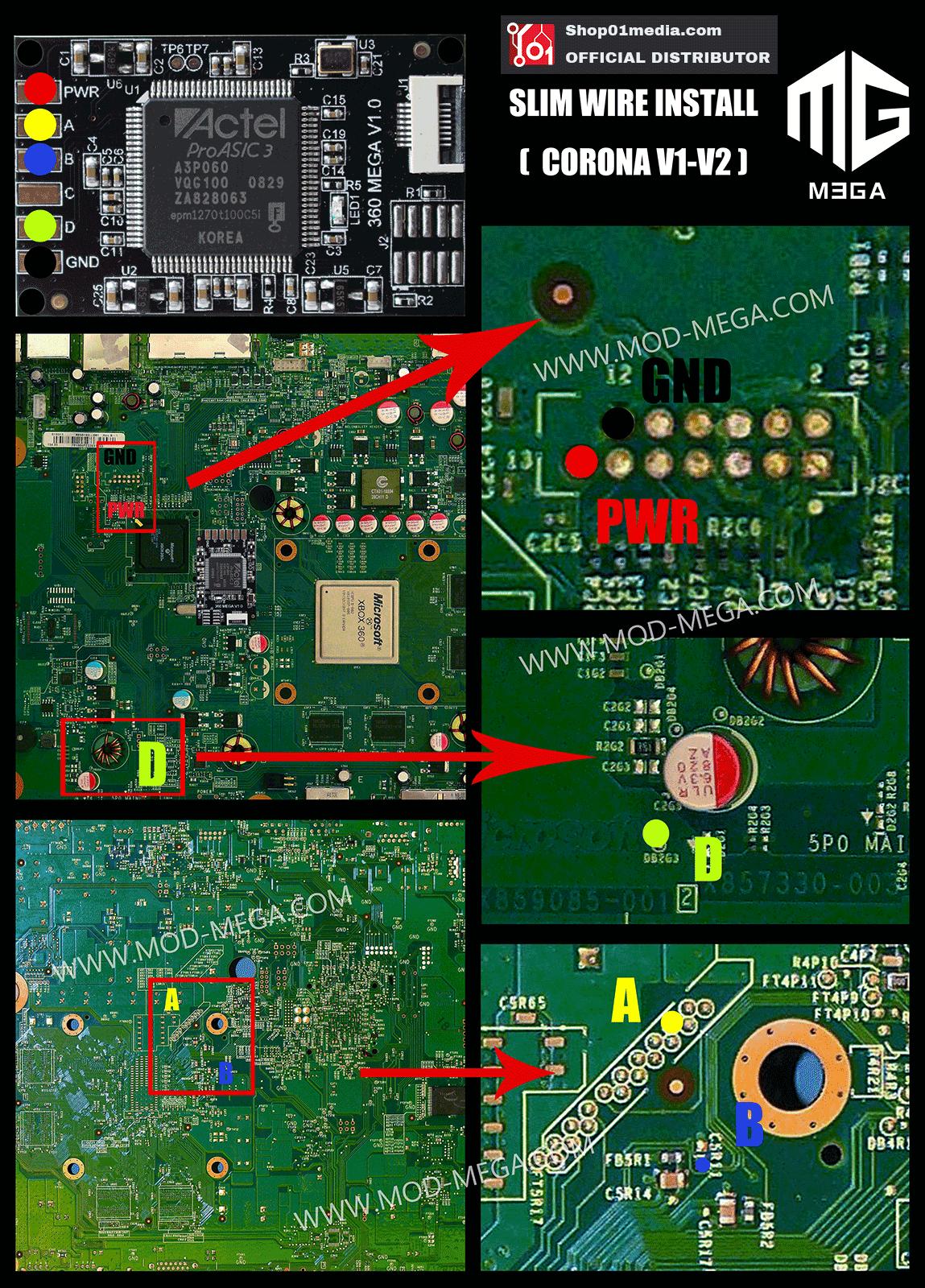 Corona V1 Ace V3 Wiring Diagram