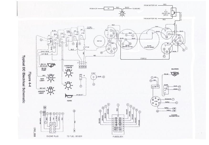 Crownline 202 Wiring Diagram
