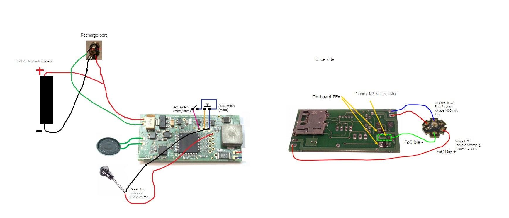 Crystal Focus V9 Wiring Diagram