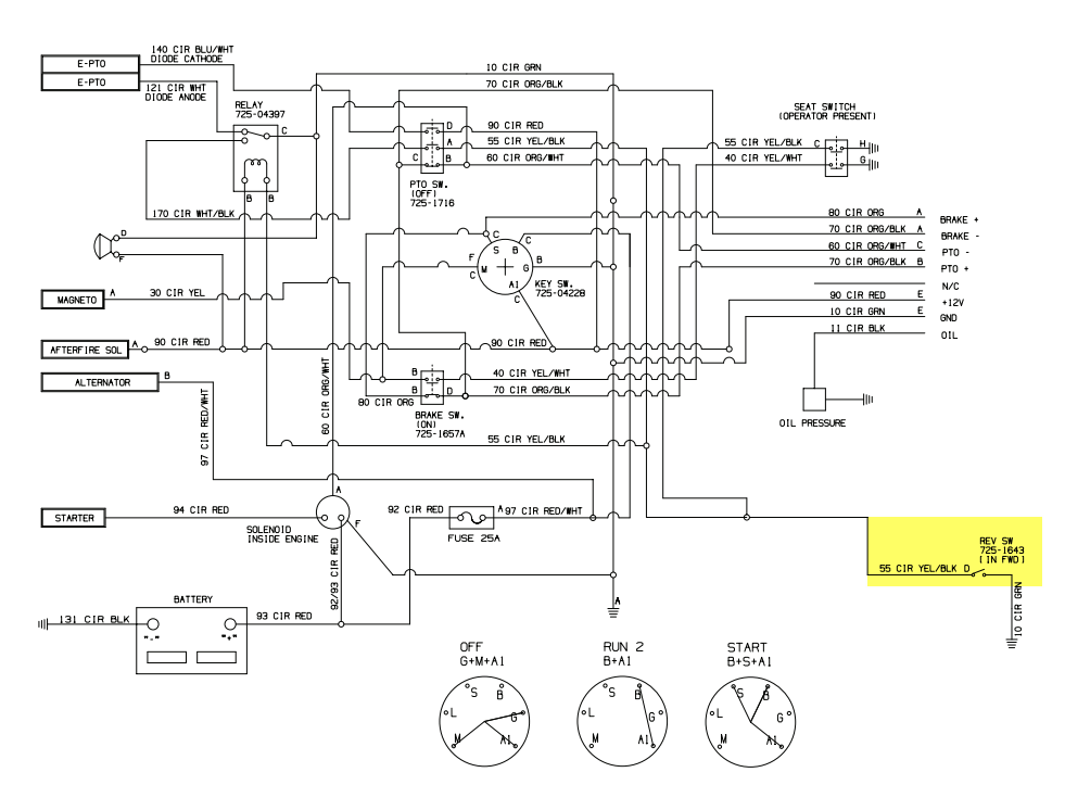 Cub Cadet Lt1018 Wiring Diagram from diagramweb.net