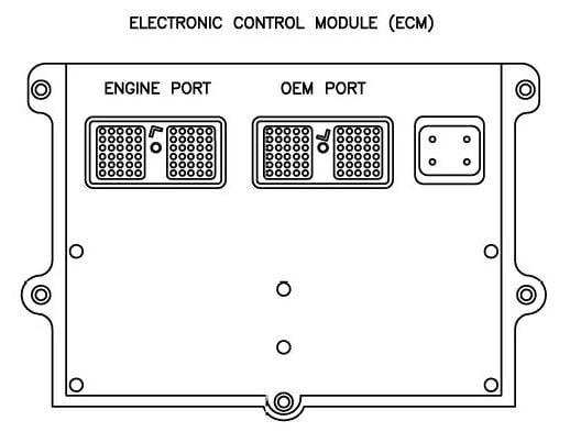 Cummins Ecm Wiring Diagram Model Qst30-c