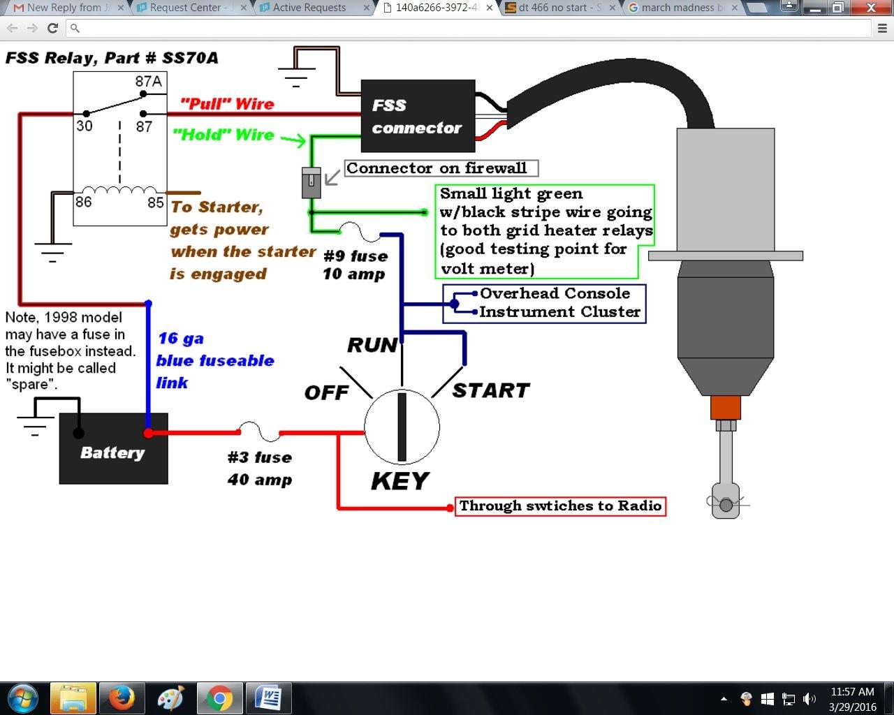 Cummins Fuel Shut Off Solenoid Wiring Diagram