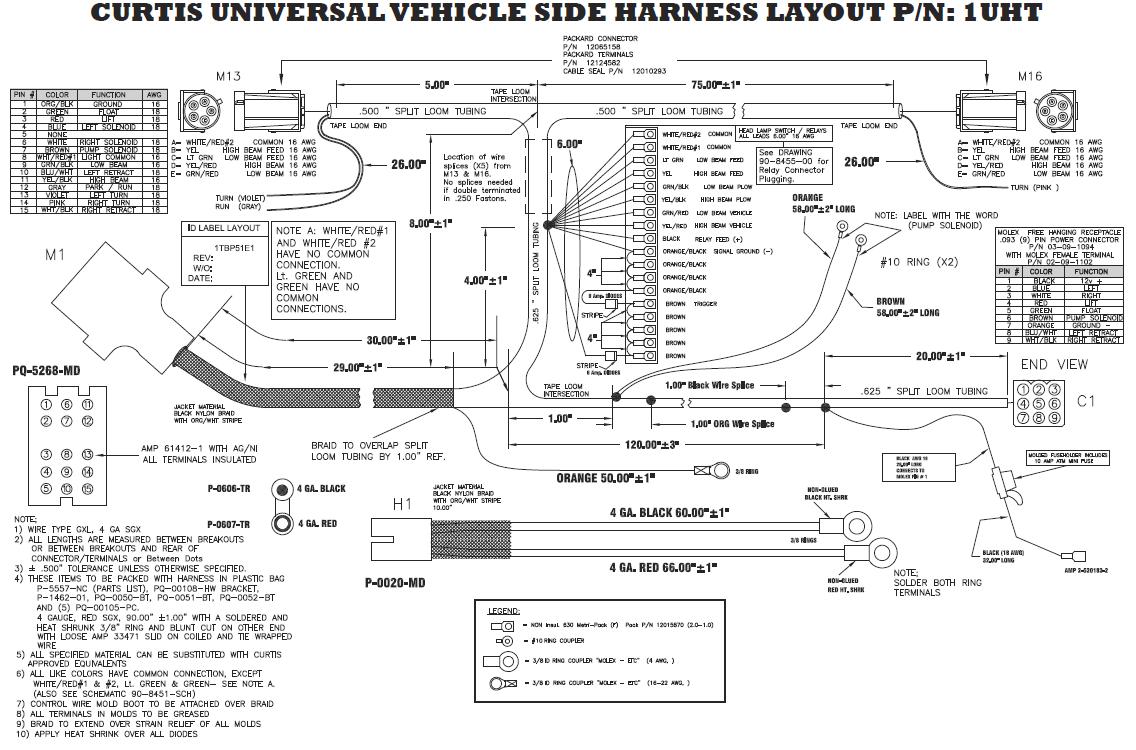 Curtis Sno Pro 3000 Wiring Diagram