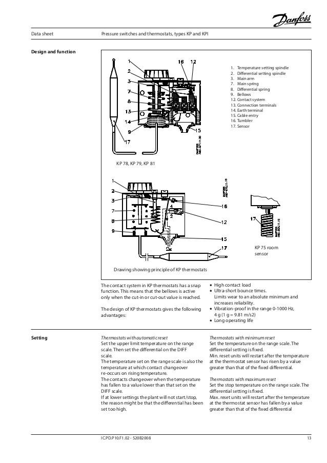 Danfoss Pressure Switch Wiring Diagram