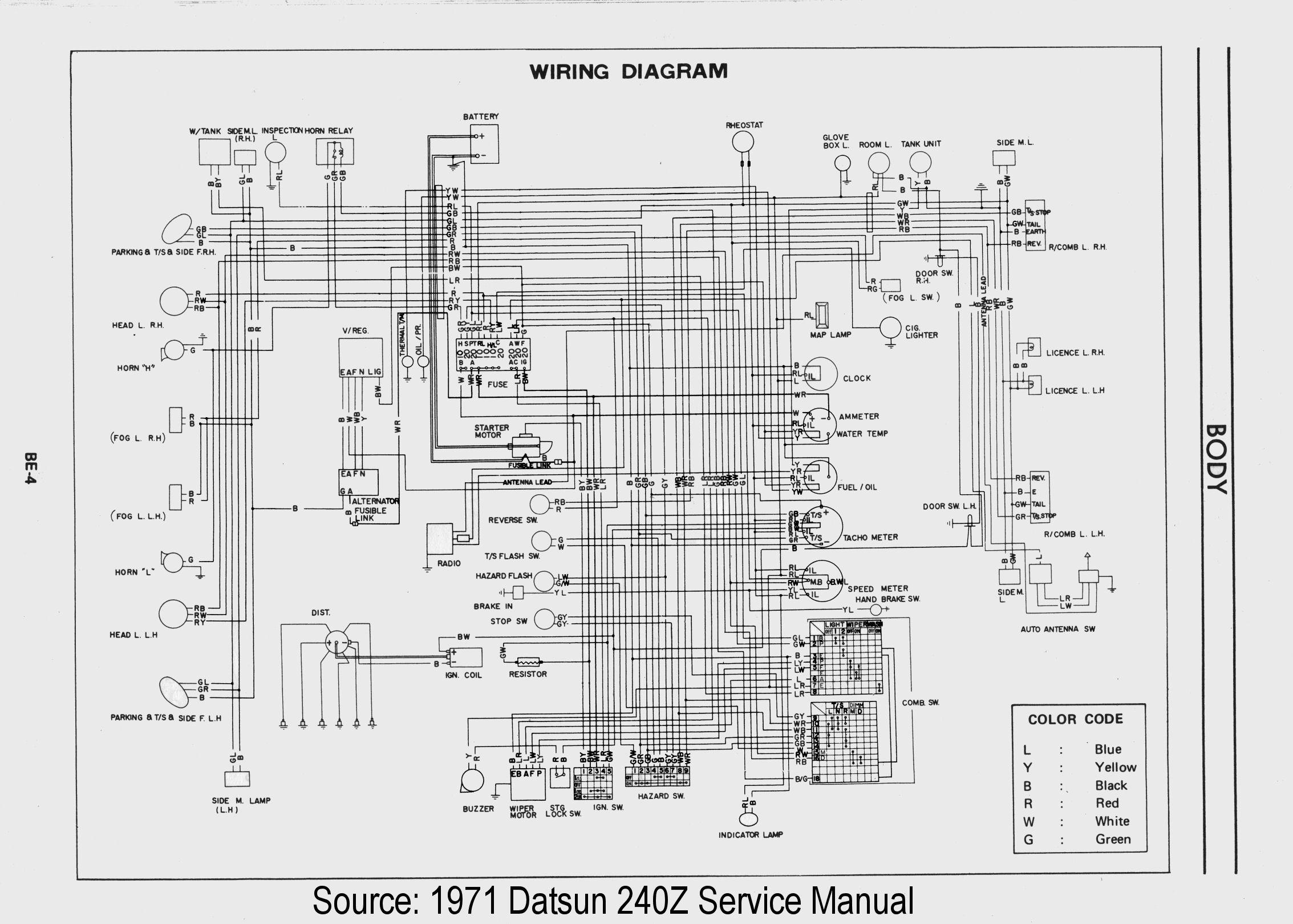 Datsun 240z Wiring Harness
