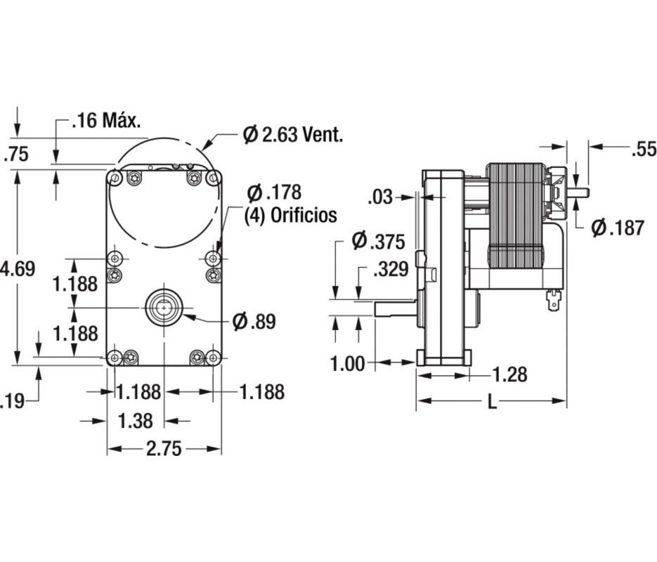 dayton model 9k457 a c  induction motor wiring diagram