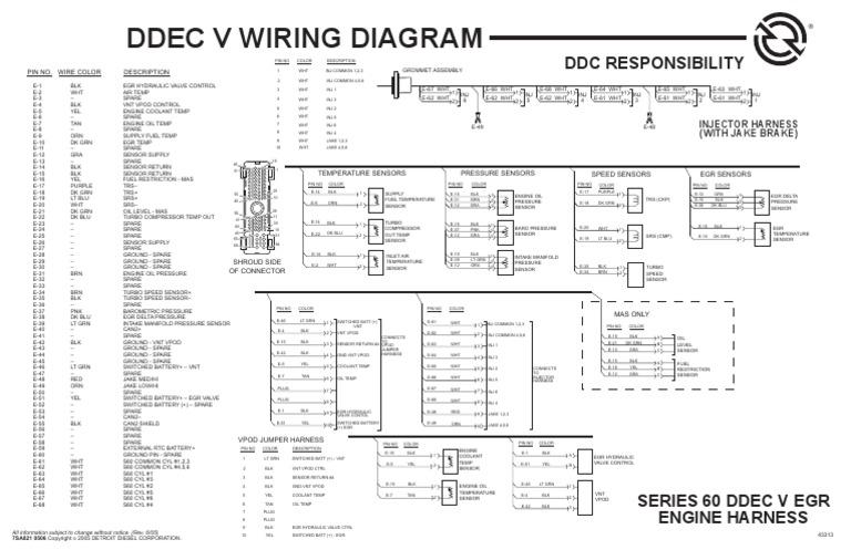 Ddec V Wiring Diagram